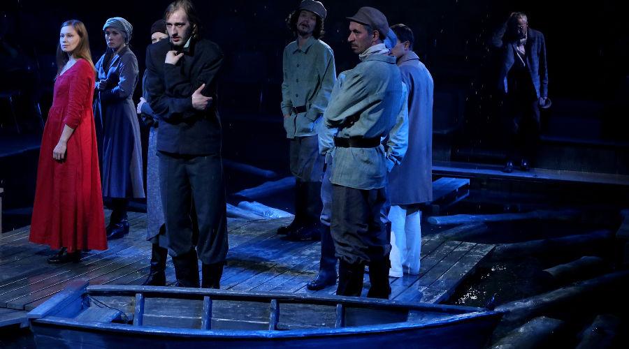 Спектакль «Гроза» © Фотография предоставлена пресс-службой КМТО «Премьера»