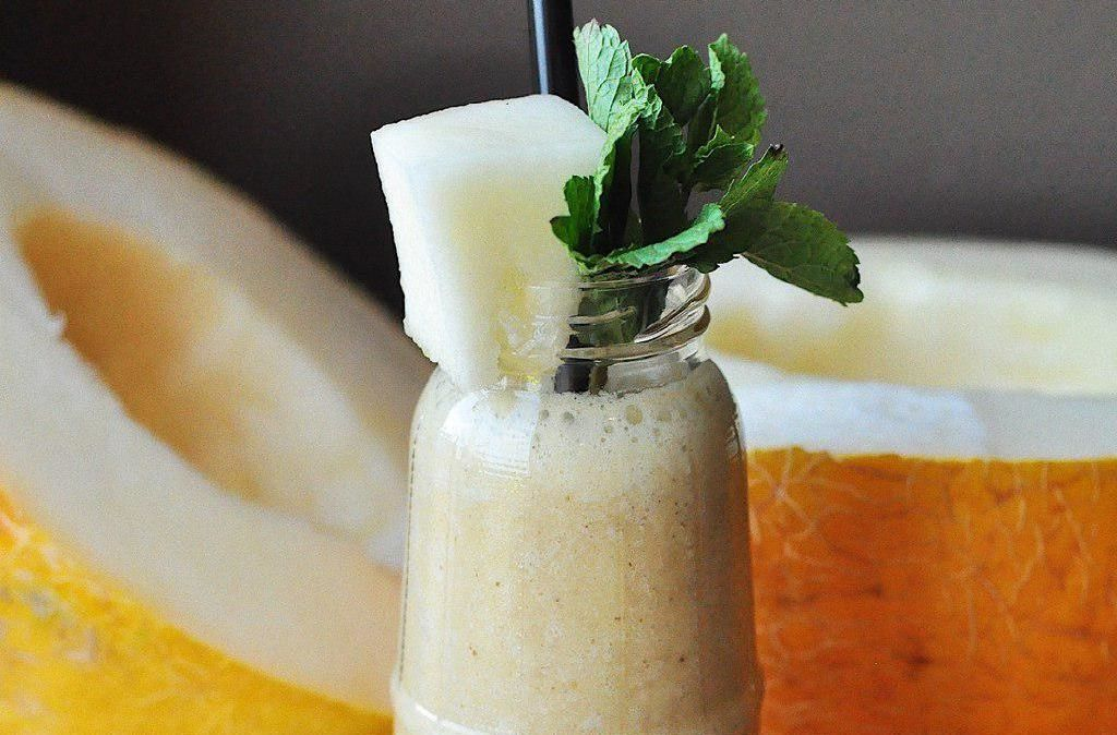 Дынный смузи ©Фото со страницы кафе «Хорошая еда» в инстаграме www.instagram.com/horoshaya_eda_