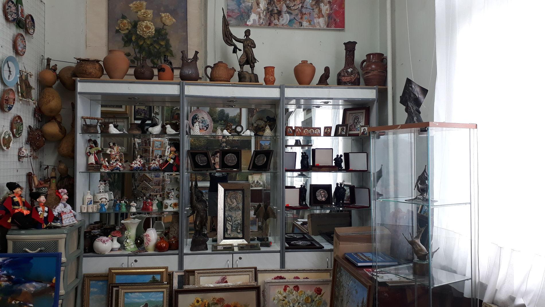 Экспонаты галереи «АртСоюз» ©Фотография предоставлена пресс-службой галереи «АртСоюз»