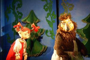 Спектакль «Лесная сказка» © Фотография предоставлена пресс-службой Краевого театра кукол