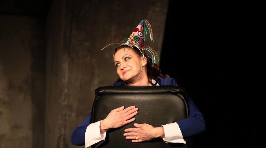 Кадр из спектакля «Метод Гронхольма» © Фото из группы «Театр Драмы» «ВКонтакте» vk.com/dram_teatr