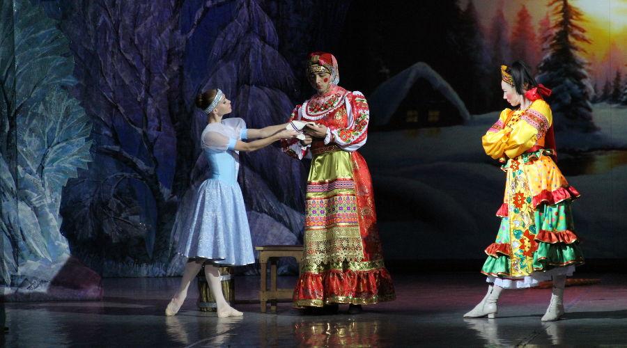 Новогоднее представление «Морозко» © Фотография предоставлена пресс-службой краснодарской филармонии