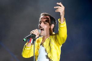 Пабло Падина из группы Dios Salve a la Reina © Елена Синеок, ЮГА.ру