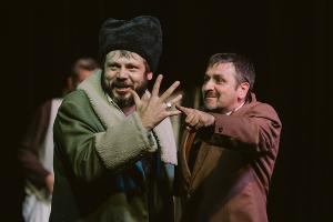 Кадр из спектакля «Кредиторы» © Фото Елены Игнаточкиной
