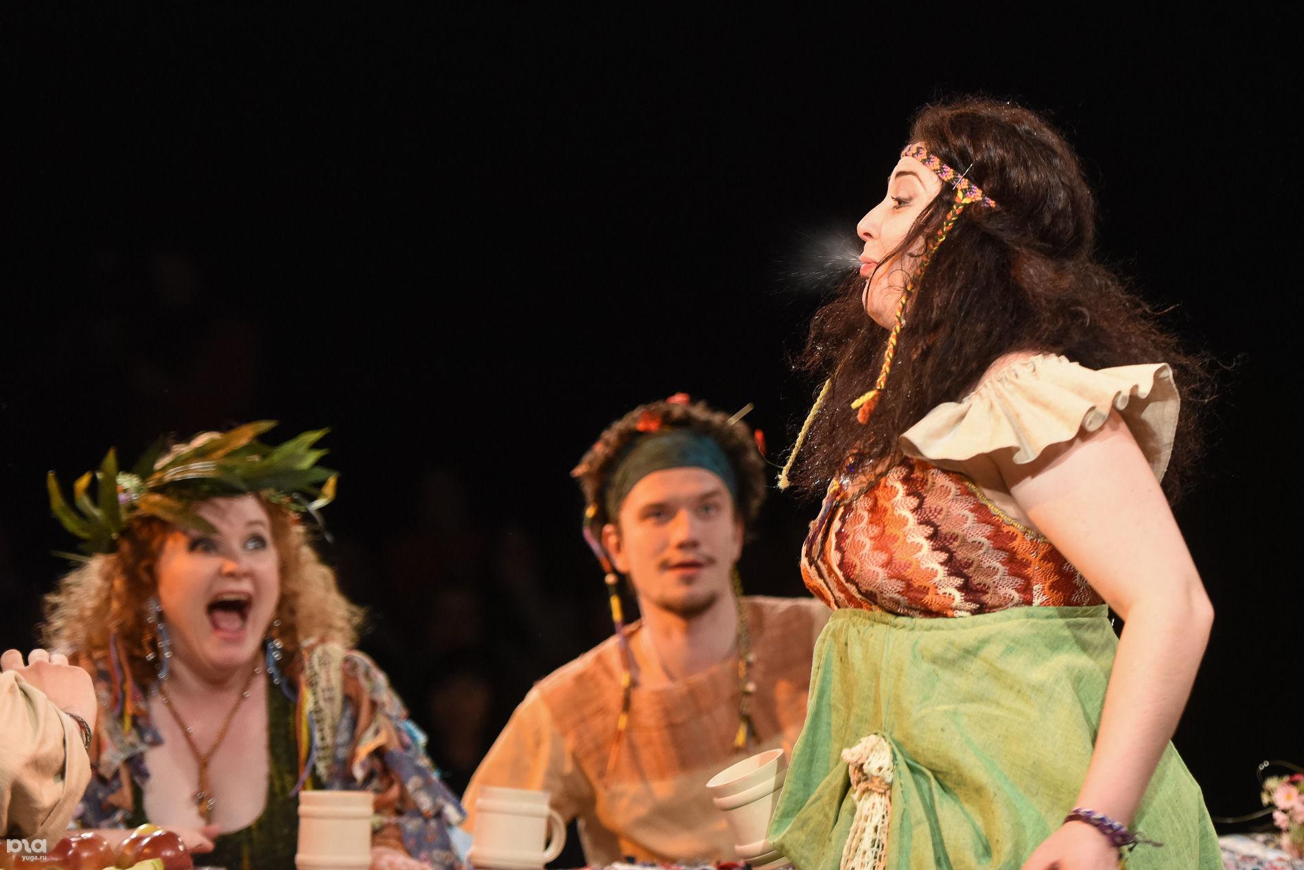 Краснодарский молодежный театр голый король почему
