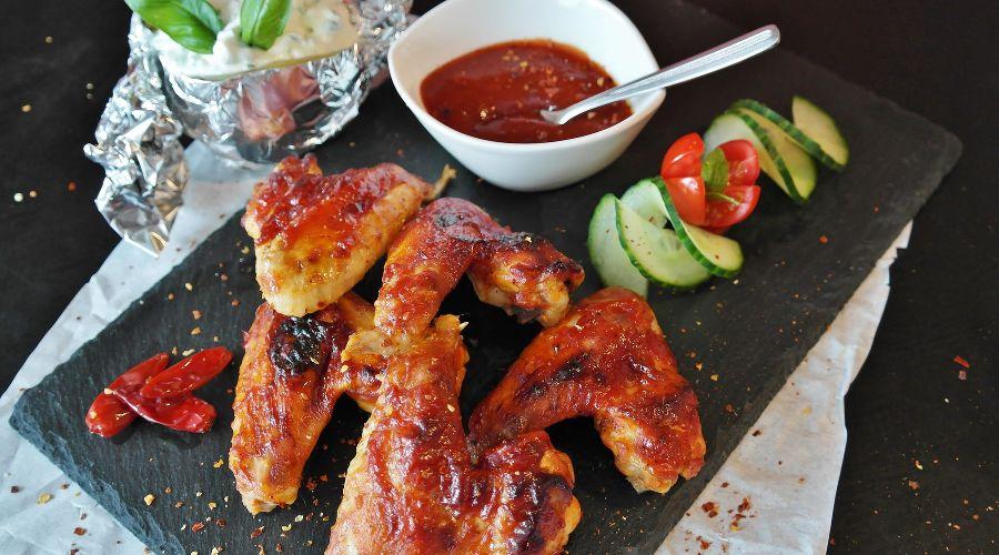 Куриные крылья © Фото с сайта pixabay.com