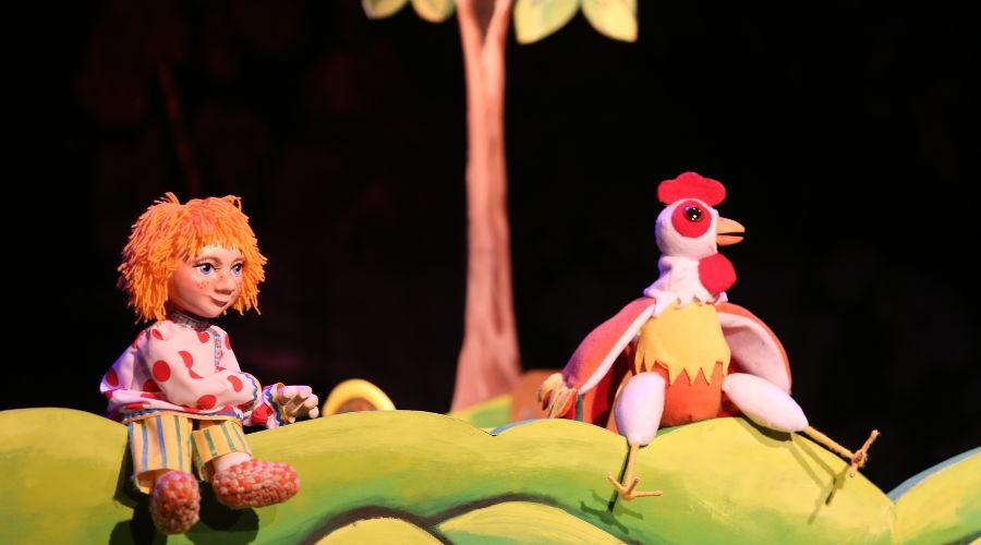 Спектакль «Гуси-лебеди» © Фото пресс-службы КМТО «Премьера»