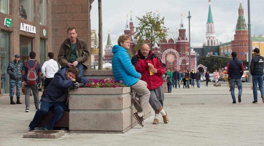 Кадр со съемок фильма «Везучий случай» © Фото с сайта kinopoisk.ru