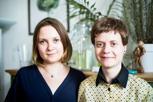 Дарья Томилова и Дарья Щетинина, проект Food Rider