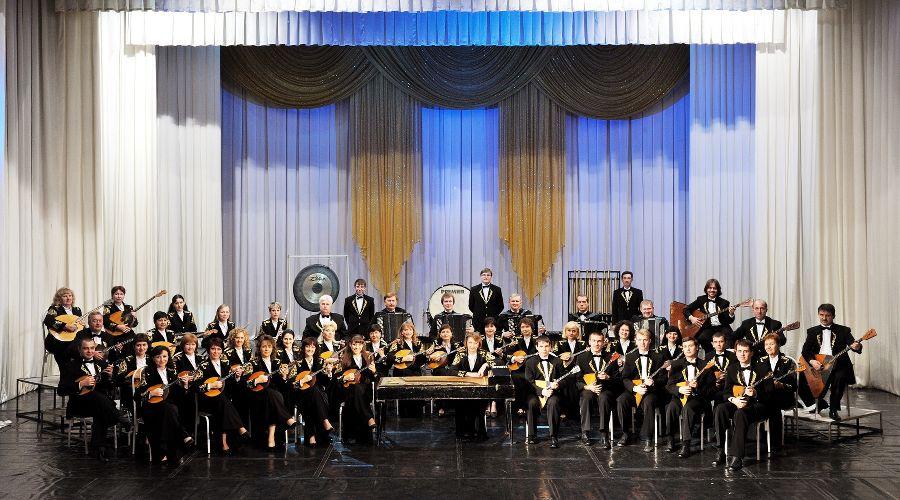 Народный оркестр «Виртуозы Кубани» © Фотография предоставлена пресс-службой краснодарской филармонии