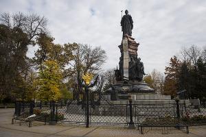 Памятник Екатерине II © Фото Елены Синеок, Юга.ру