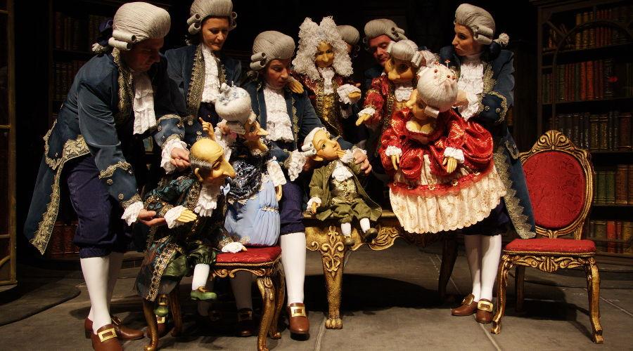 Черная курица © Фотография предоставлена пресс-службой Краевого театра кукол