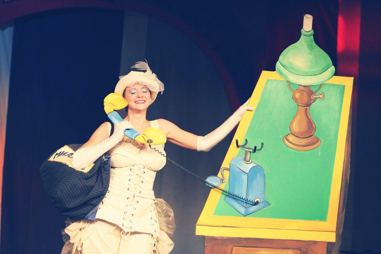 Кадр из спектакля «Неуловимый Фунтик» ©Фото из группы «Театр Драмы» во «ВКонтакте», vk.com/dram_teatr