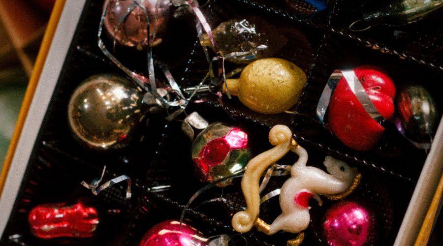 Новогодние игрушки © Фотография предоставлена пресс-службой креативного кластера «Колос»