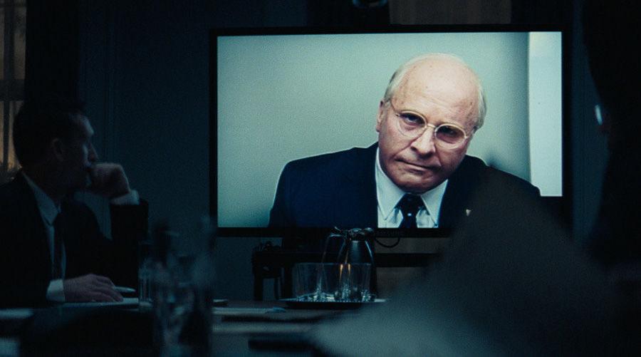 Кристиан Бейл в роли Дика Чейни ©Кадр из фильма «Власть», kinopoisk.ru