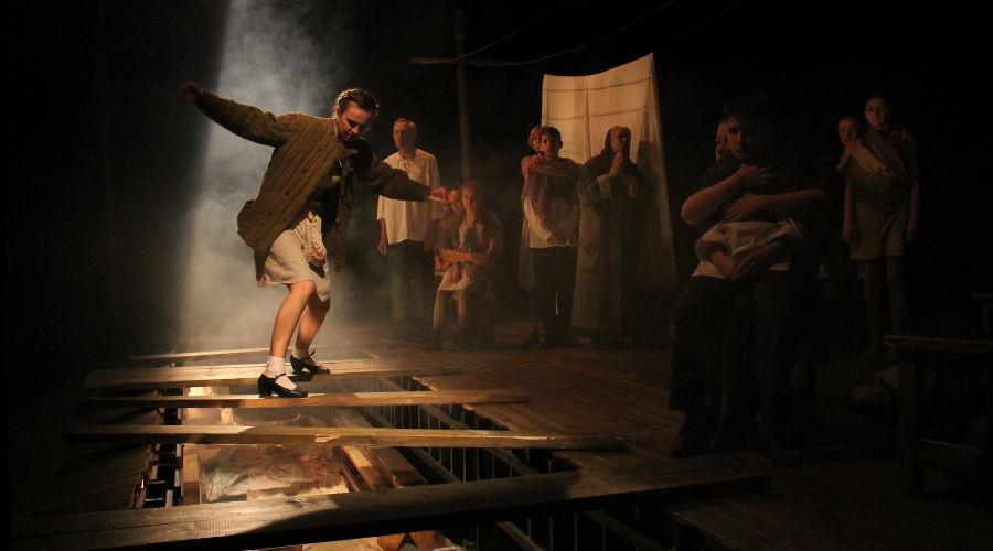 Спектакль «Эшелон» © Фото пресс-службы Молодежного театра Краснодара