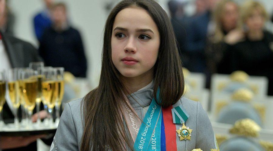 Алина Загитова © Фото пресс-службы Кремля