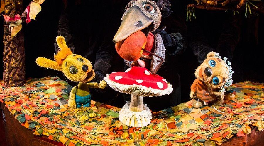 Спектакль «Палочка-выручалочка» © Фотография предоставлена пресс-службой Краевого театра кукол