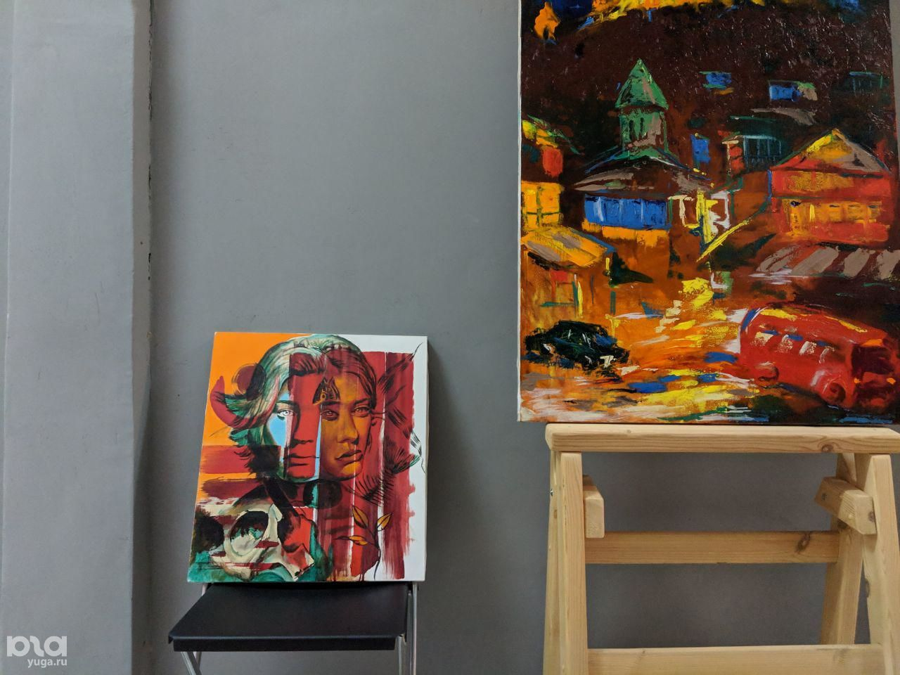 Выставка в пространстве Harrison Art ©Фото Александры Прохоренковой-Аксёновой, Юга.ру