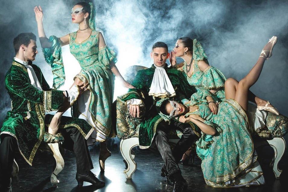 Балет «Венеция» ©Фото с сайта venecia-show.ru