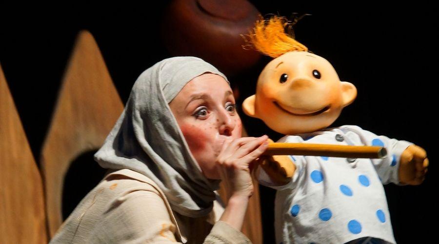 Гуси-лебеди © Фотография предоставлена пресс-службой Краевого театра кукол