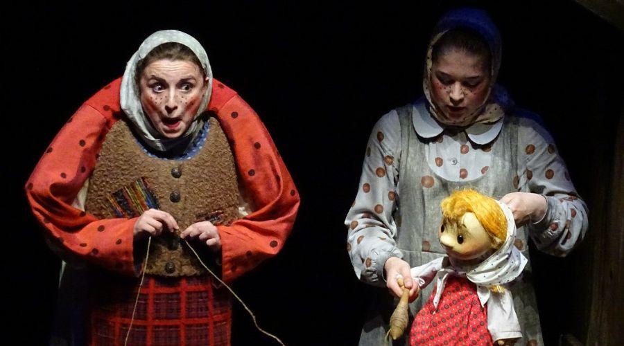 Спектакль «Лесная сказка» © Фото пресс-службы Краснодарского краевого театра кукол