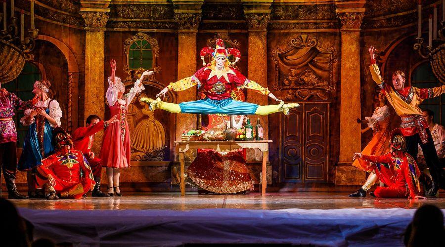 Балет «Золотая рыбка» © Фотография предоставлена пресс-службой краснодарской филармонии