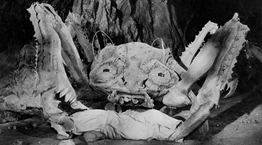 Кадр из фильма «Атака Крабов-Монстров», 1957 год, реж. Роджер Корман