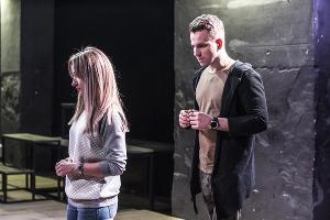 Спектакль «Опасные связи» © Фото со страницы театра «Мой» «ВКонтакте» vk.com/teatrshkola_ss