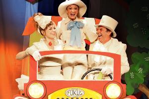 Кадр из спектакля «Неуловимый Фунтик» © Фото из группы «Театр Драмы» «ВКонтакте» vk.com/dram_teatr