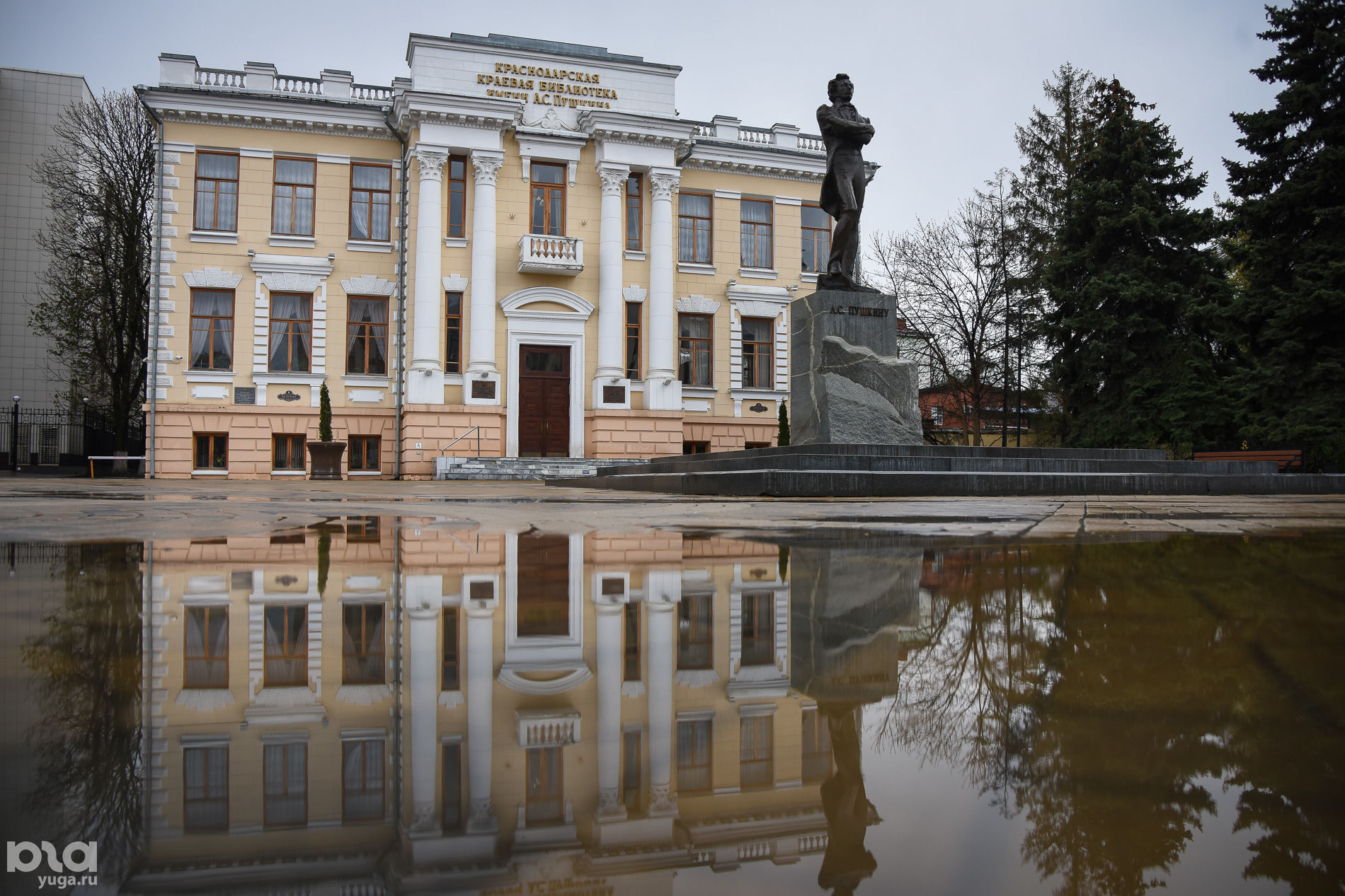 Библиотека имени Пушкина ©Фото Елены Синеок, Юга.ру