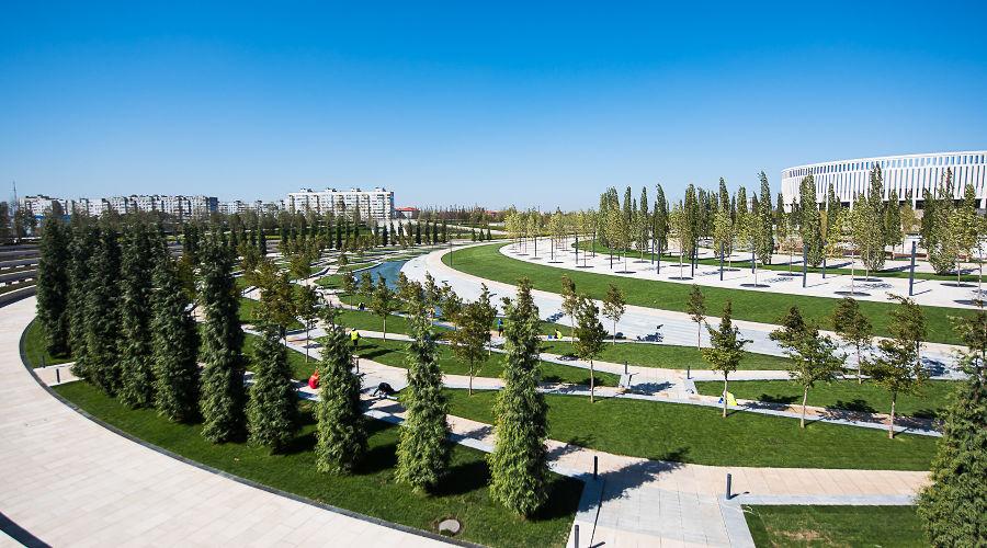 Парк «Краснодар» © Фото Елены Синеок, Юга.ру