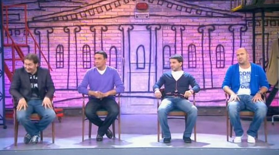 """Квартет И © Скриншот видео с сайта youtube.com, Шоу """"ни бе ни ме нехило"""" - 1"""