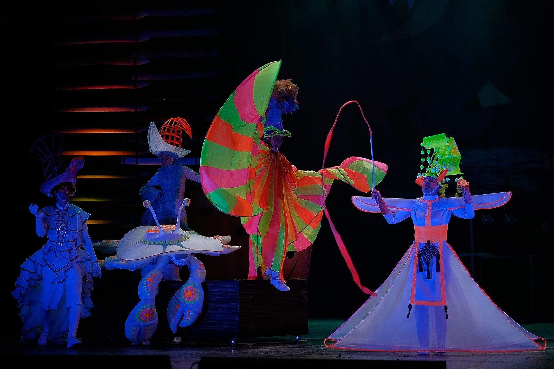Кадр из спектакля «Алиса в Стране чудес» ©Фото Николая Хижняка