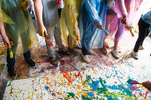 Первое занятие в летнем арт?кампусе «Типографии» ©Фото Елены Синеок, Юга.ру