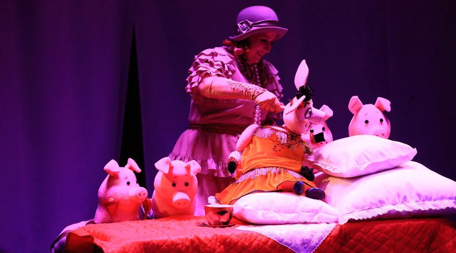 Спектакль «Кошкин дом» © Фотография предоставлена пресс-службой КМТО «Премьера»