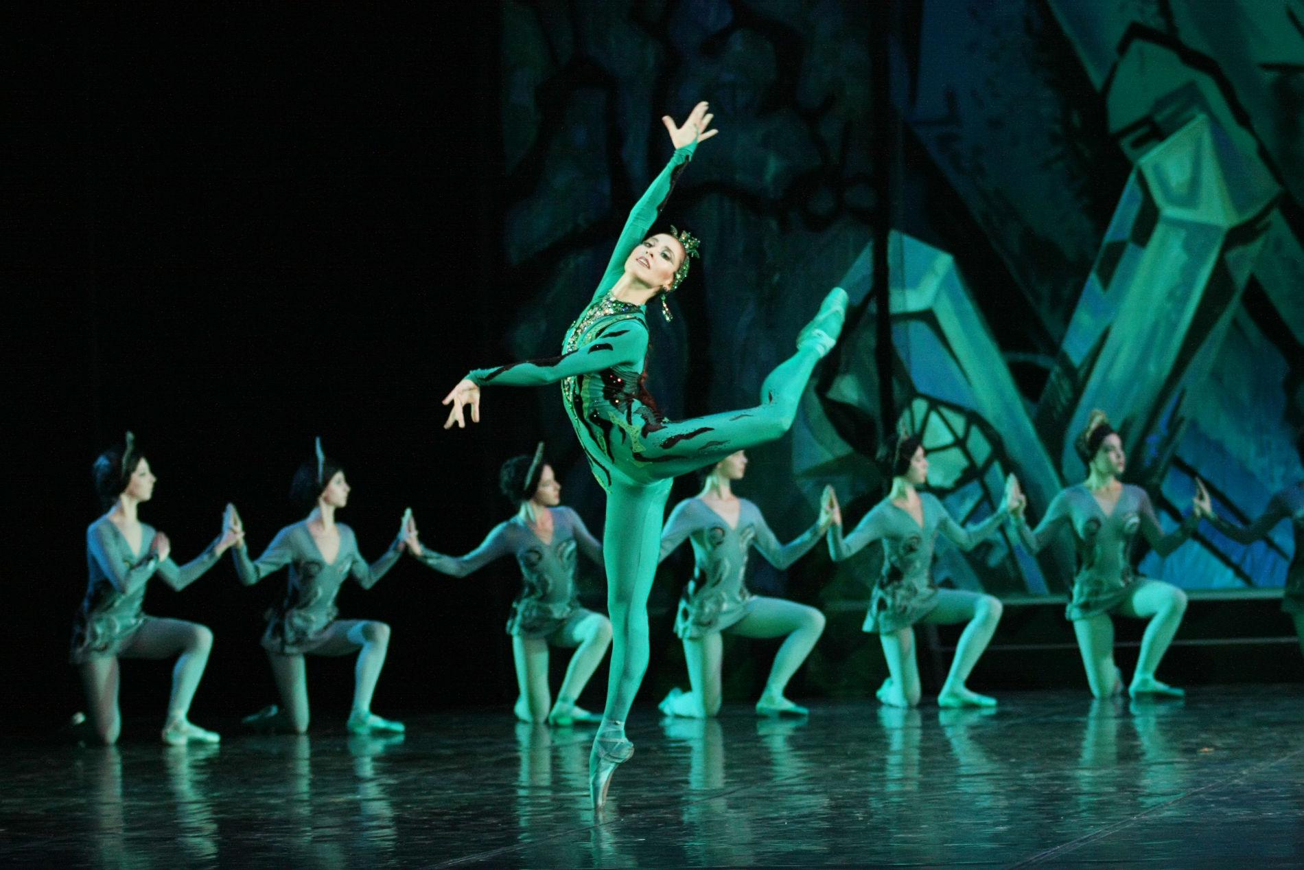О балете каменный цветок история создания музыка