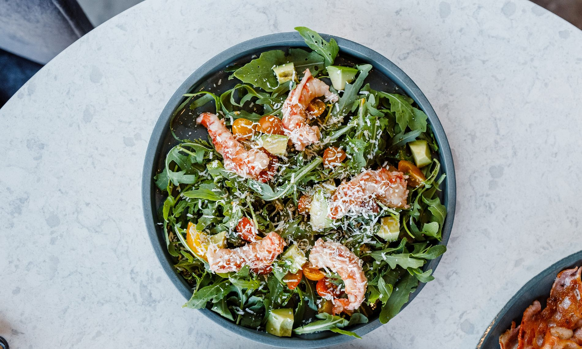 Салат с лангустинами и рукколой ©Фотография предоставлена заведением