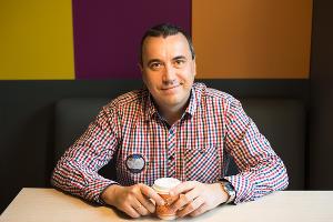 Сергей Реук, директор краснодарской сети «Додо Пицца» ©Фото Елены Синеок, Юга.ру