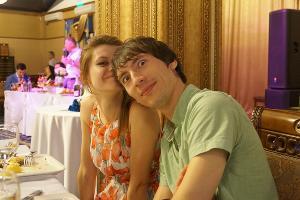 Елена Лободина и Алексей Захарченко ©Фотография предоставлена Еленой Лободиной
