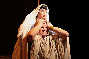 Кадр из спектакля «Евангелие от Воланда» © Фотография предоставлена пресс-службой театра драмы