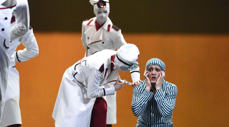 Балета-фантасмагория «Мастер и Маргарита» © Фото Елены Синеок, Юга.ру