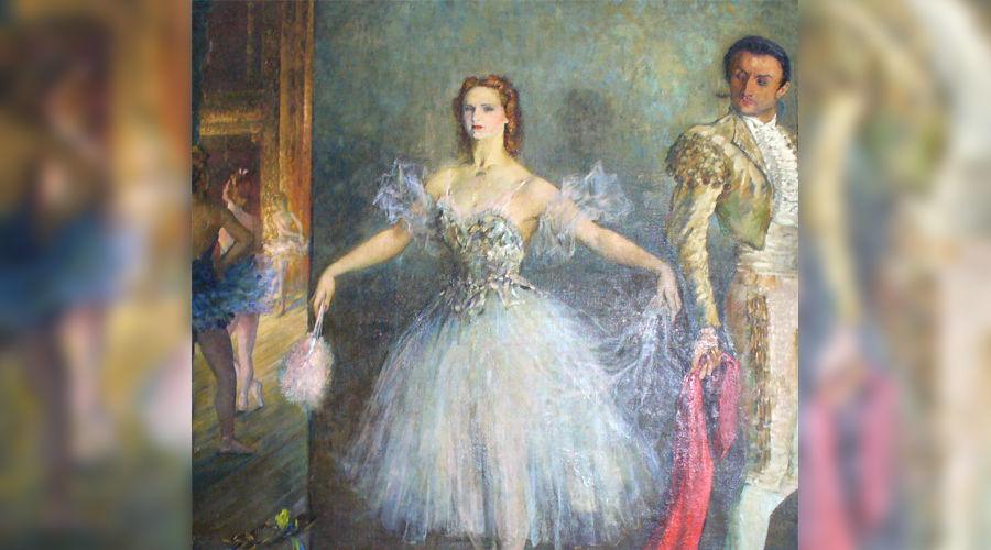 Петр Вильямс (1902—1947). Балерина Семенова. 1945, холст, масло © Фото Юга.ру