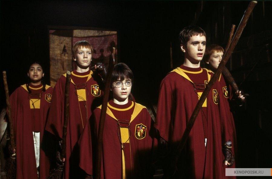 Кадр из фильма «Гарри Поттер и философский камень», реж. Крис Коламбус, 2001 год