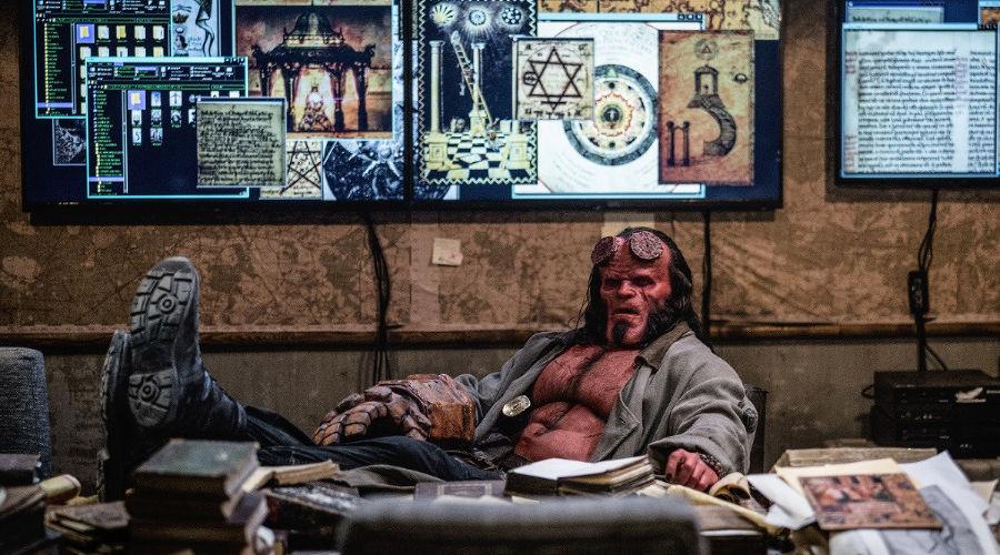 Кадр из фильма «Хеллбой», реж. Нил Маршалл, 2019 год © Фото с сайта kinopoisk.ru