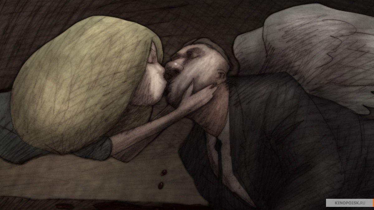 Кадр из фильма «Идиоты и ангелы»