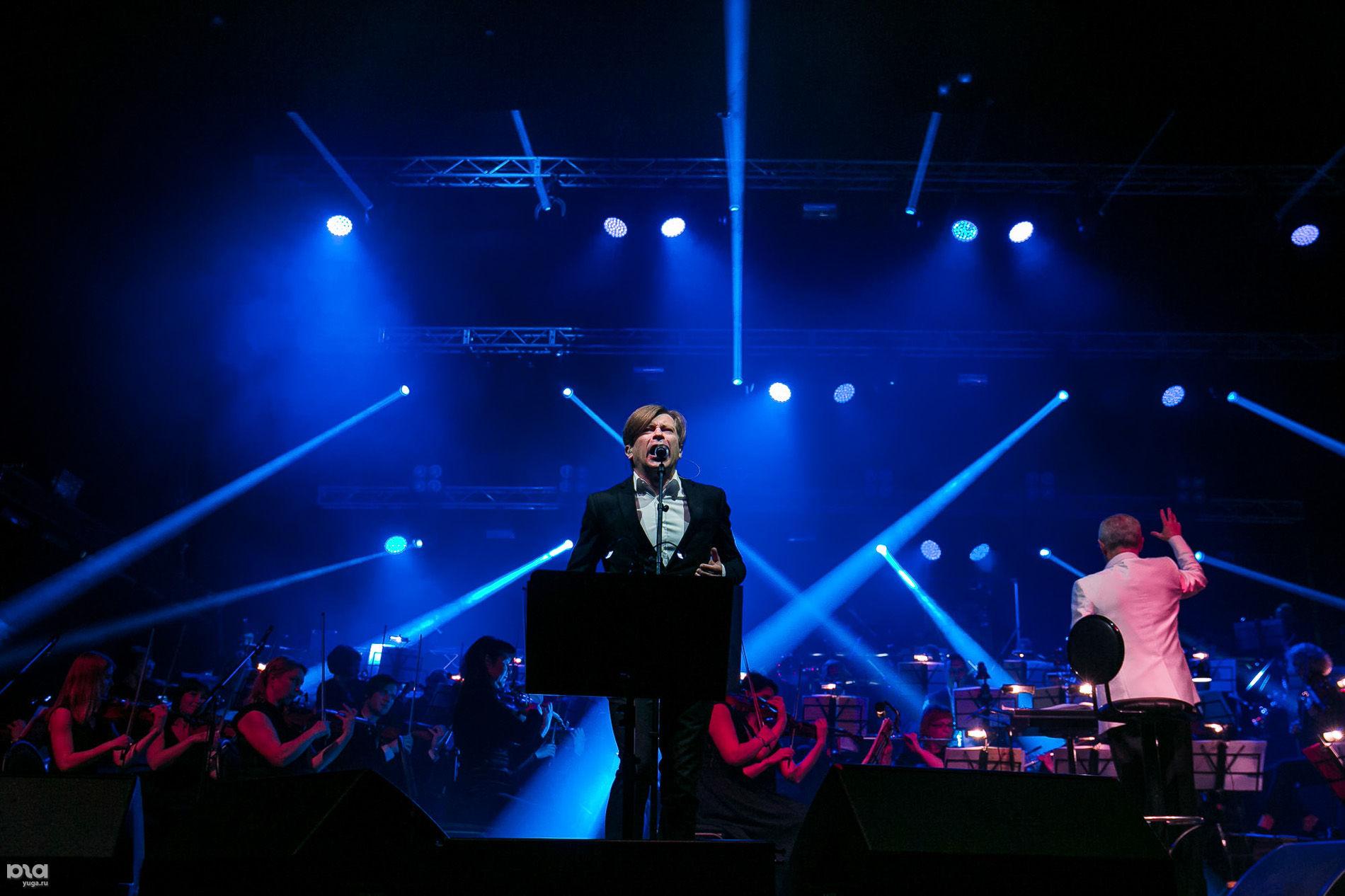 """Концерт """"Би-2"""" с симфоническим оркестром в Краснодаре"""