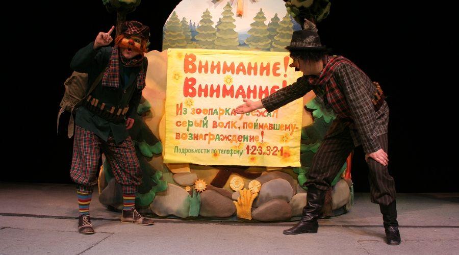Спектакль «Три поросенка» © Фотография предоставлена пресс-службой Краевого театра кукол