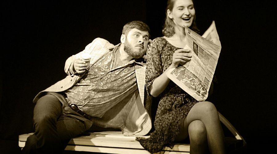"""Спектакль «Скамейка» © Фото из группы «Театр Любителей Театра """"Шардам""""» «ВКонтакте» vk.com/teatrshardam"""