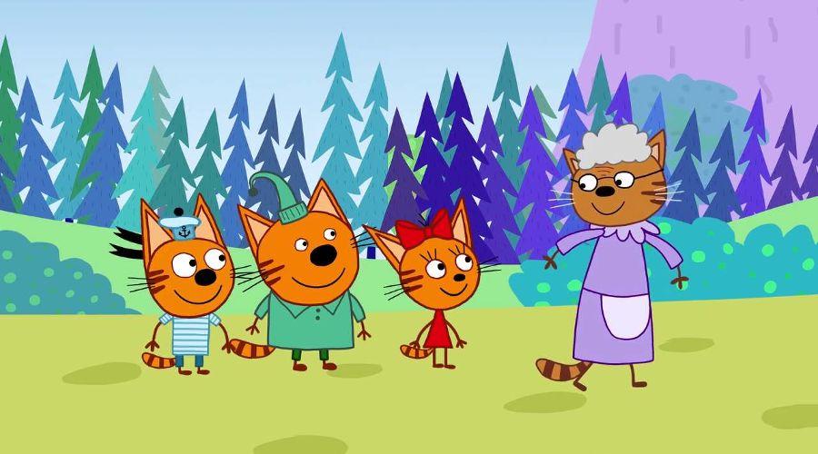 Кадр из мульфильма «Три кота» © Скриншот видео с сайта youtube.ru